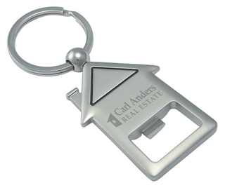 Promotional Product House Warming Keyring