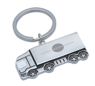 Promotional Product Cargo Keyring