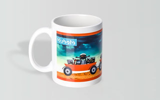 Promotional Product Full Colour Printed Can Mug
