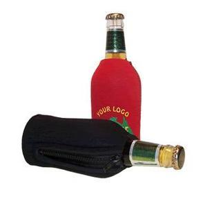 Promotional Product Zip Stubby Holder- 375ml