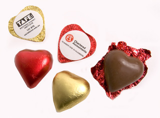 Promotional Product 7gm Chocolate Heart