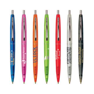 Promotional Product Clear Clics Ecolutions Pen