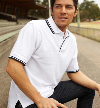 Promotional Product Double Striped Polo