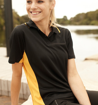 Promotional Product Ladies Panel Polo Shirt