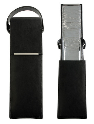 Promotional Product Stirling Single Leather Wine Carrier