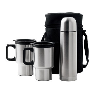 Promotional Product Car Mug/Vacuum Flask Set