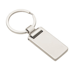 Promotional Product Euro Silver Keyring