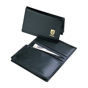 Promotional Product LEATHER POCKET BUSINESS CARD HOLDER