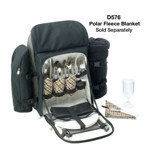 Promotional Product KIMBERLEY 4 SETTING PICNIC BACKPACK SET