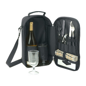 Promotional Product KIMBERLEY COOLER BAG / WINE & CHEESE SET
