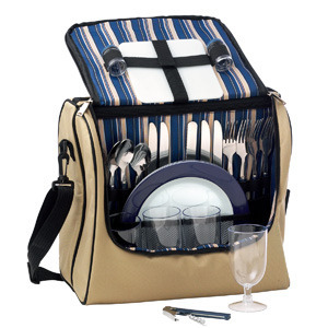 Promotional Product Adventure 4 Setting Picnic Cooler Bag