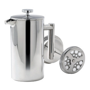 Promotional Product 1.0 litre Stainless Steel Coffee Plunger