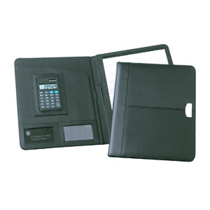 Promotional Product Essex Leather Conference Folder