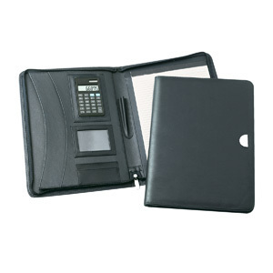 Promotional Product LUCERNE ZIPPERED COMPENDIUM