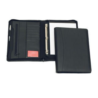 Promotional Product Cambridge Leather 3 Ring Compendium