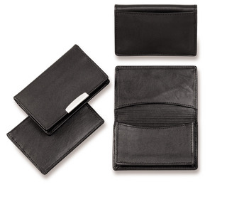 Promotional Product Deluxe Leather Card Holder