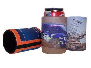 Promotional Product 1 Stubby Holder with Base- Full colour wrap print