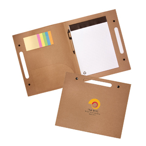 Promotional Product Enviro Folder with Pen