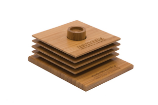 Promotional Product Bamboo Coaster Set