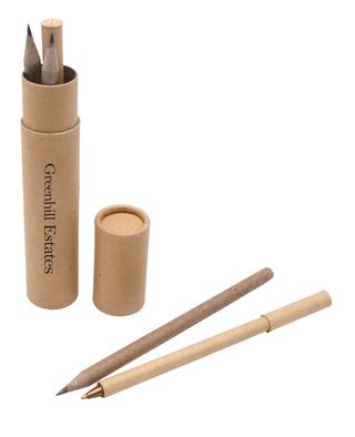 Promotional Product Eco Writing Set