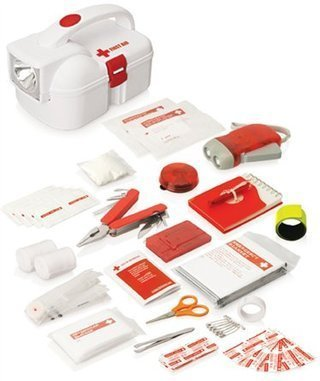 Promotional Product 50pc Emergency Torch First Aid Kit