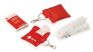 Promotional Product CPR Mask On Keyring