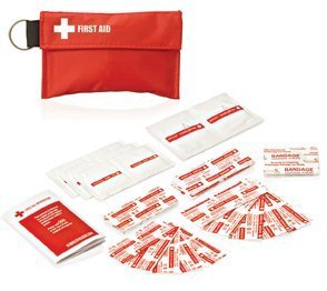 Promotional Product 34pc First Aid Pouch on Keyring