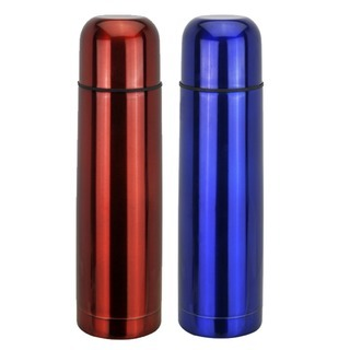 Promotional Product Metallic Coloured Bullet Flask
