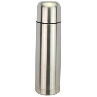 Promotional Product Bullet Flask - 750ml Silver