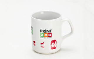 Promotional Product Full Colour Printed Flare Mug