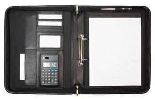 Promotional Product Foolscap Compendium with Handle