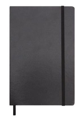 Promotional Product City A5 notebook with elastic