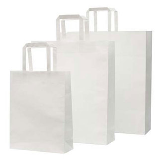 Promotional Product Large White Paper Bag