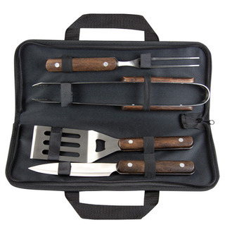 Promotional Product Wooden BBQ Tool Set