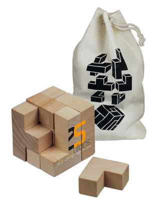 Promotional Product Wooden Brainteaser