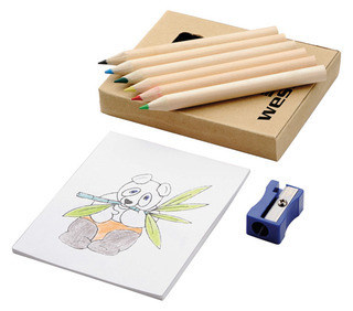 Promotional Product 8 Piece Colouring Set