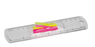 Promotional Product 15cm Ruler With Flags