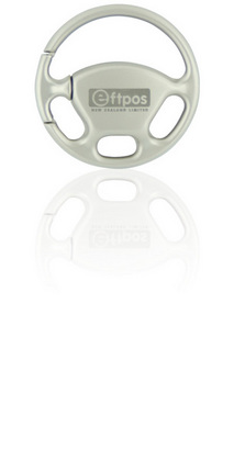 Promotional Product Steering Wheel Keyring
