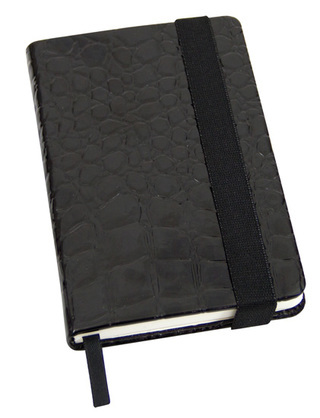 Promotional Product Crocodile Skin A6 Notebook
