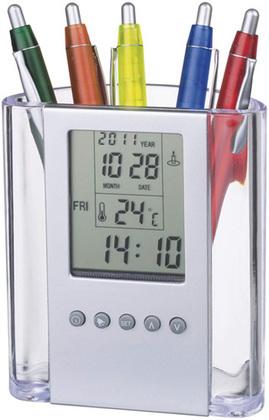 Promotional Product Alarm clock & pen holder