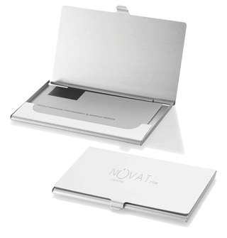Promotional Product Aluminium Business Card Holder