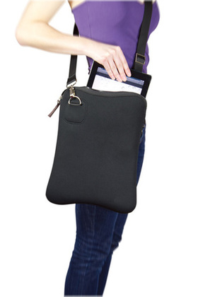 Promotional Product Neoprene shoulder satchel