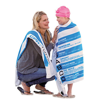 Promotional Product CPR Towel