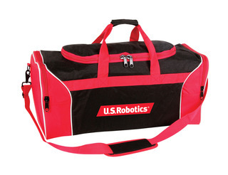 Promotional Product Tri-Colour Sports Bag