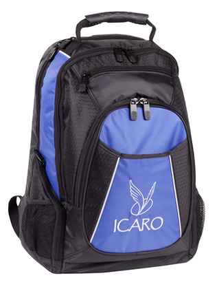 Promotional Product Backpack with 3 Front Pockets