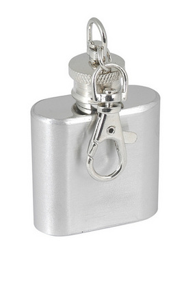 Promotional Product 1 oz flask keyring