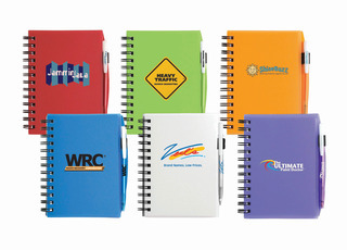 Promotional Product Small Plastic Cover Notebook