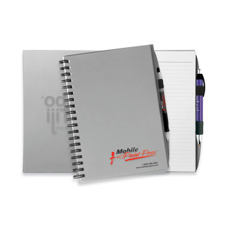 Promotional Product Large Plastic Cover Notebook
