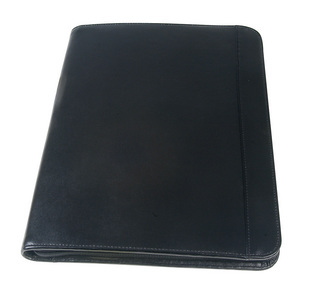 Promotional Product Leather Zip Round Compendium