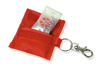 Promotional Product CPR Mask Key Ring